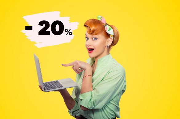 Online tečajevi – 20% popusta